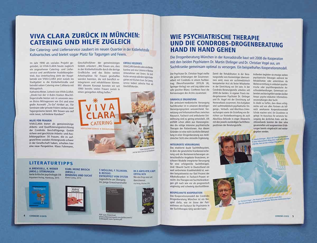 condrobs Zeitschrift von Innen - Carmen Christ Design