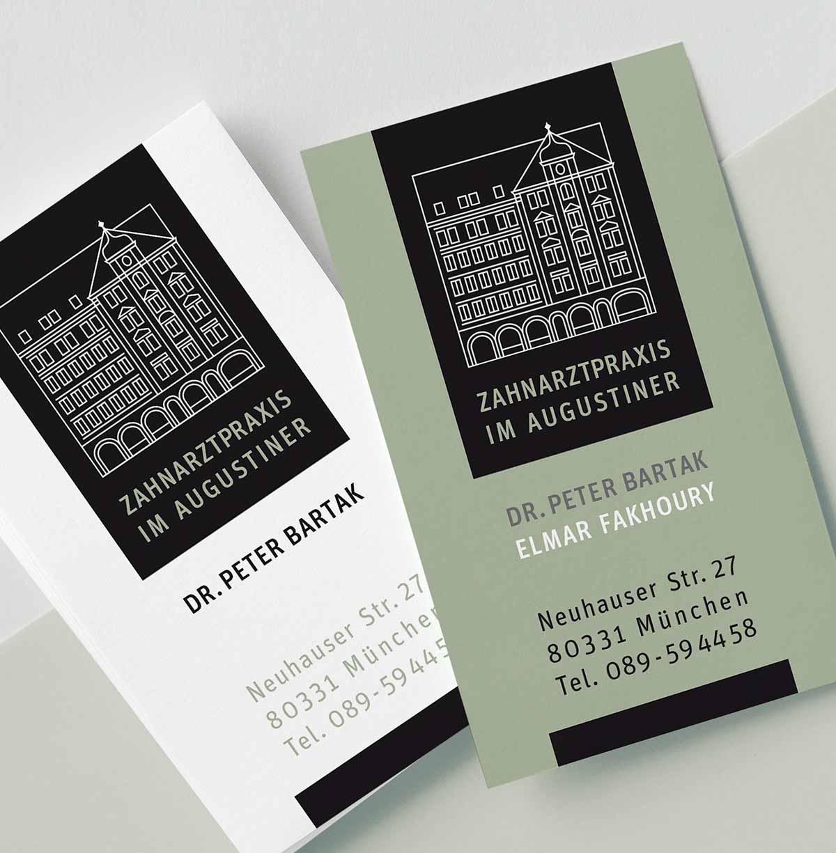 c-c-design.de - Grafik Design - Visitenkartendesign - Businesscard für Dr. Peter Bartak