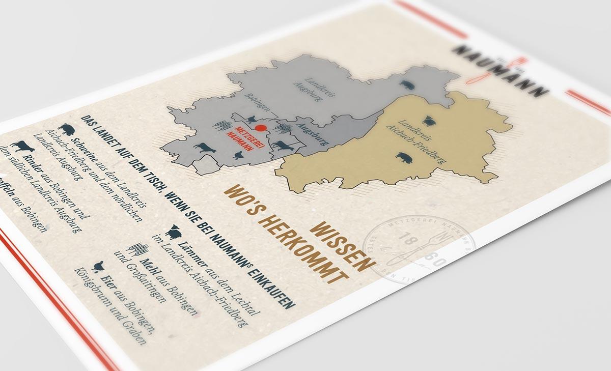 Flyerdesign für Naumann von c-c-design.de