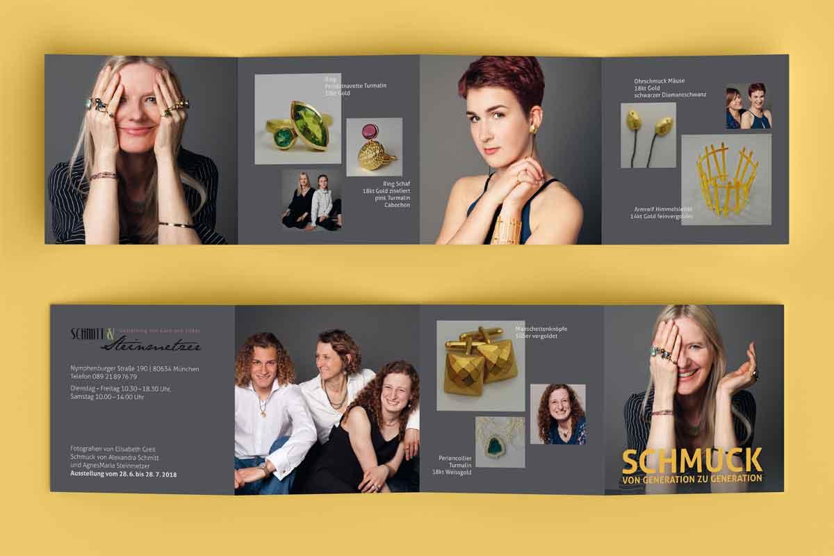 Schmitt Steinmetzer Flyer - Design by c-c-design.de