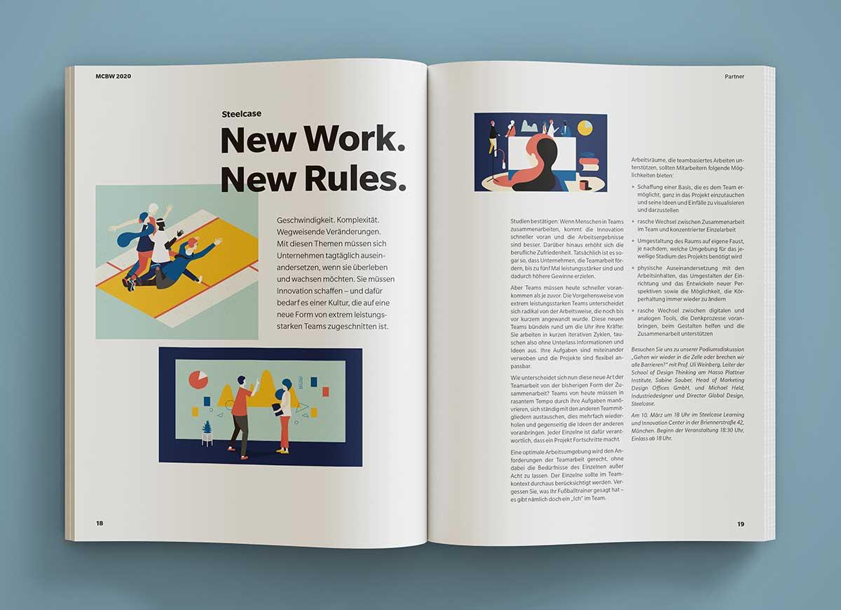 MCBW 2020 Innenansicht Magazin - c-c-design.de