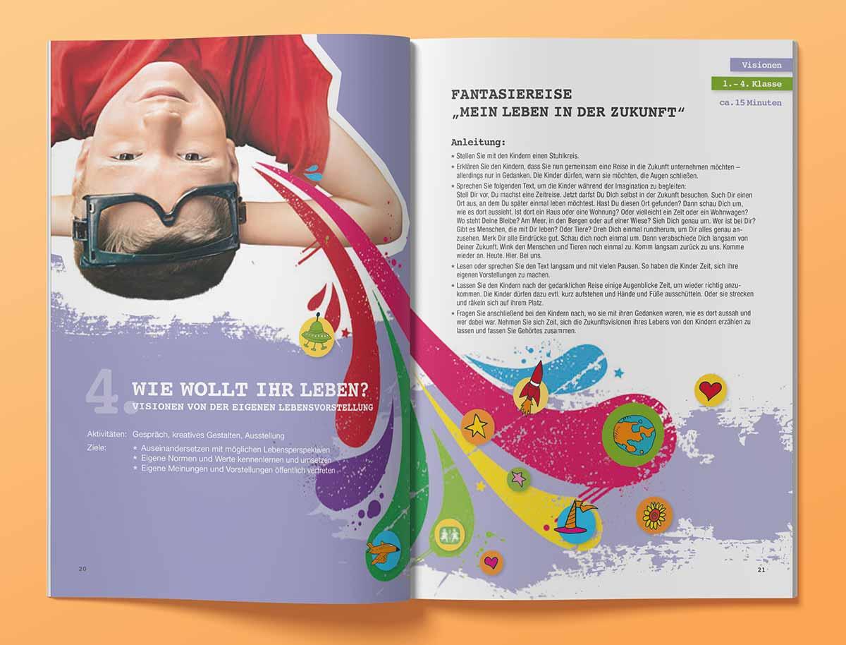 c-c-design.de - Design für Hefte SOS Kinderdörfer