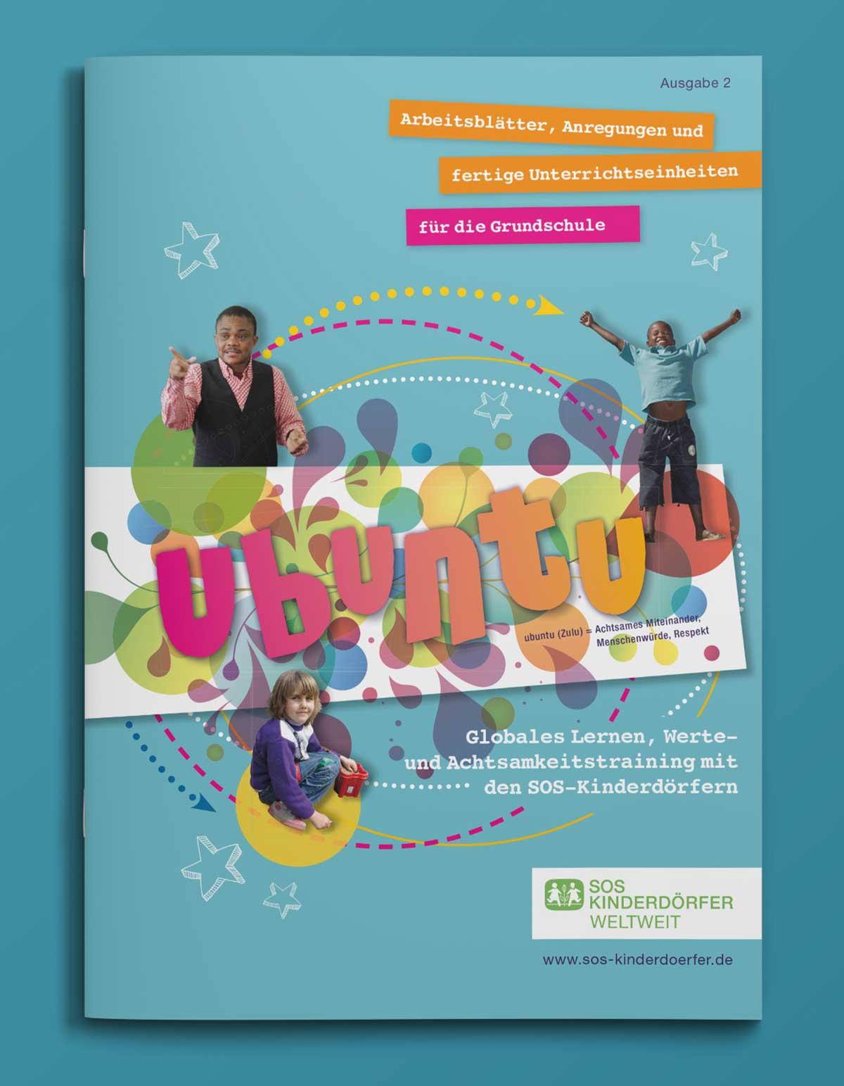Titelseite von SOS Kinderdörfer Heft Ubuntu