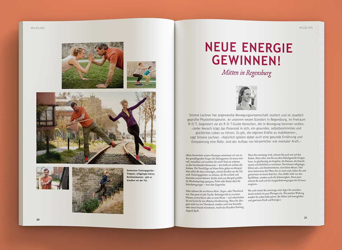 Wolfsspur Heft 8 - Innenansicht - Design by c-c-design.de