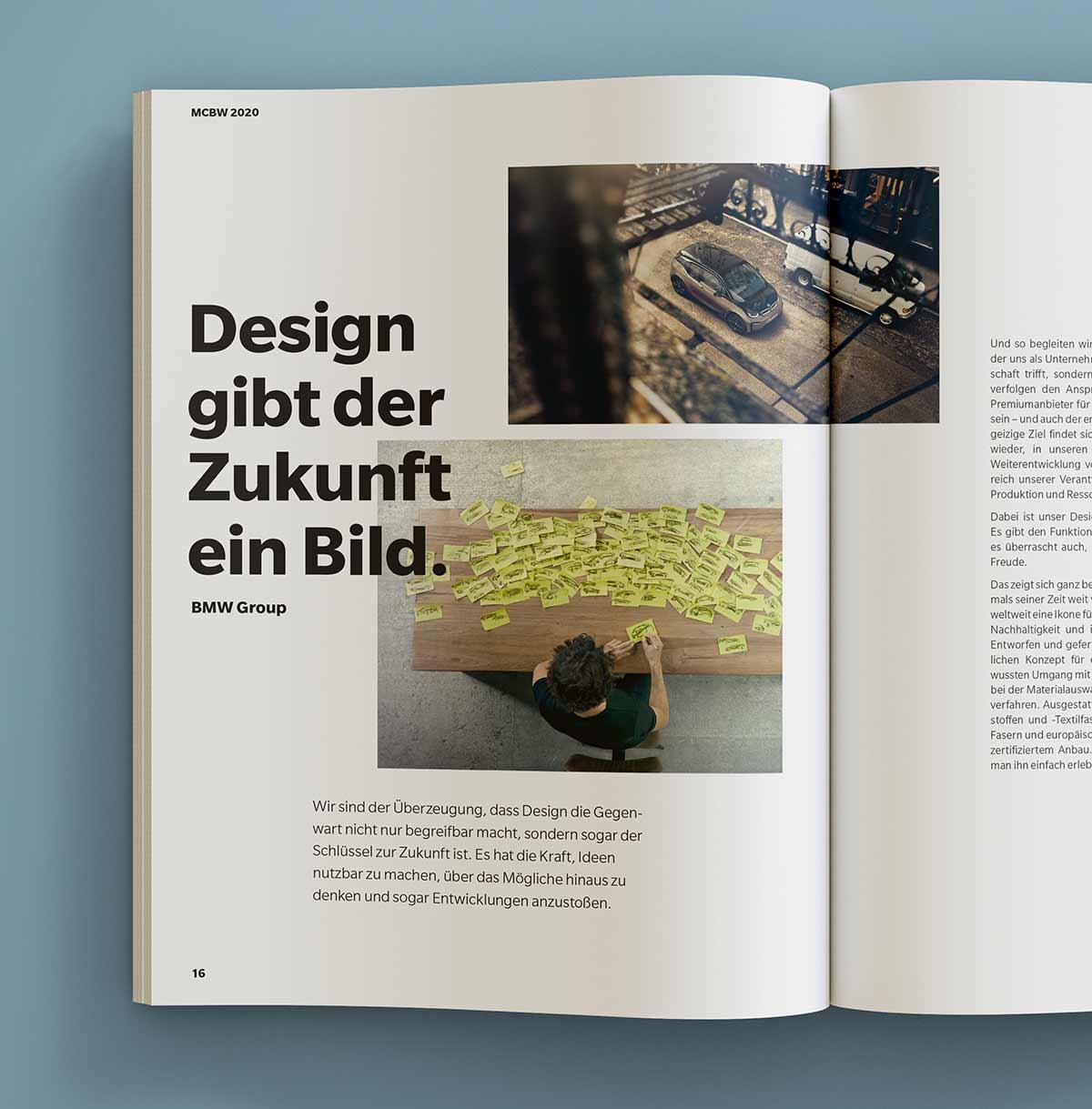 Design gibt der Zukunft ein Bild - Illustration und Grafik Design c-c-design.de