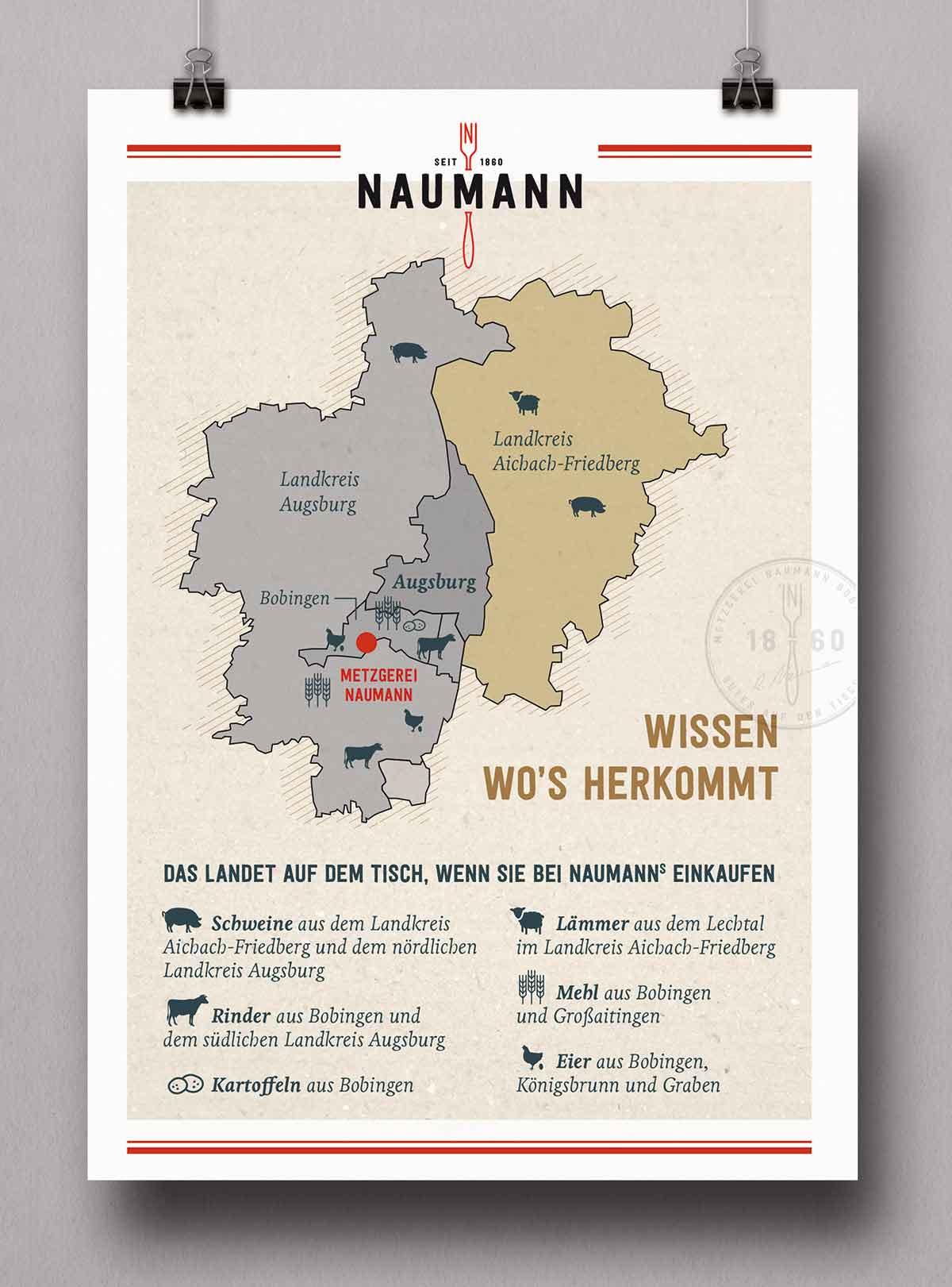 Flyer für Naumann Leib und Seele von c-c-design.de