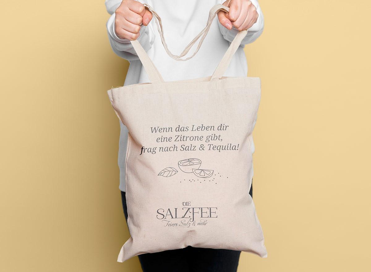 Carmen Christ Design   Stofftasche Die Salzfee