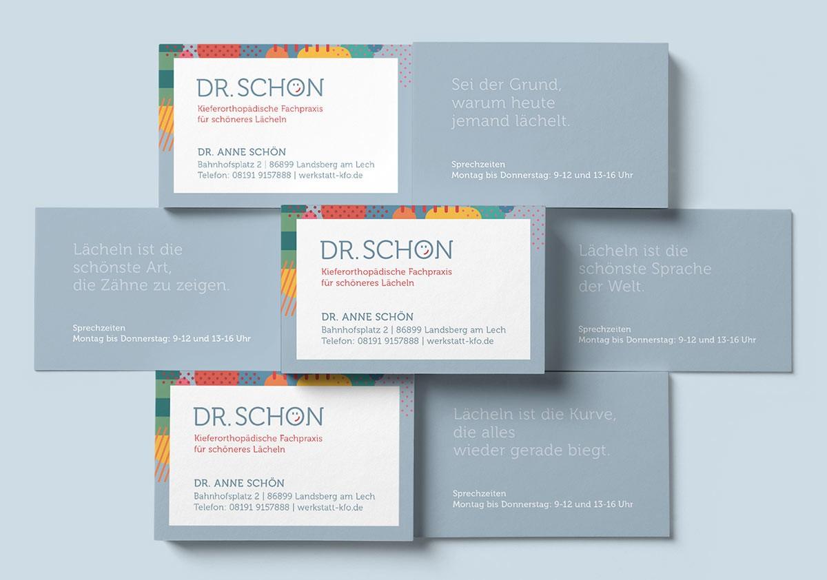 Visitenkarten, Coporate Design - Grafik Designerin Carmen Christ