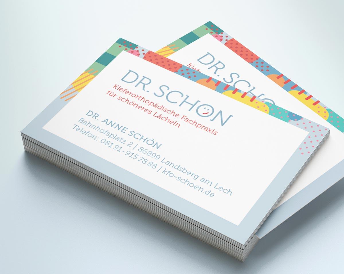 Visitenkarten - Grafik Designerin Carmen Christ
